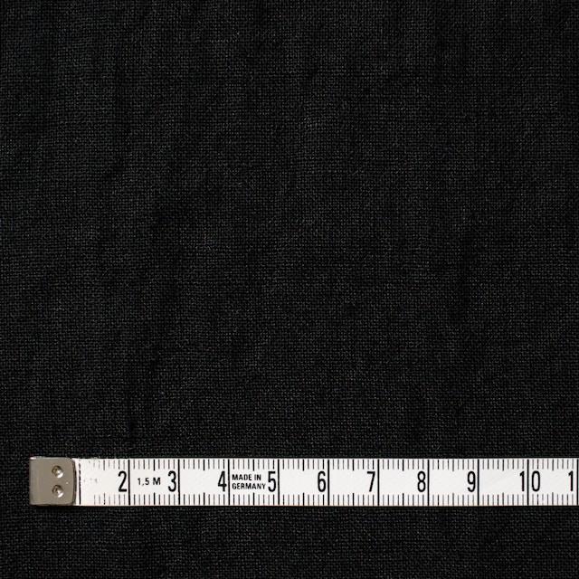 リネン×無地(ブラック)×薄キャンバス イメージ4