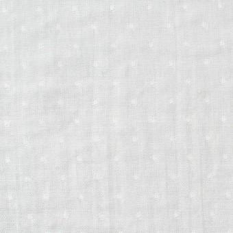 コットン×ドット(ライトグレー)×Wガーゼ サムネイル1