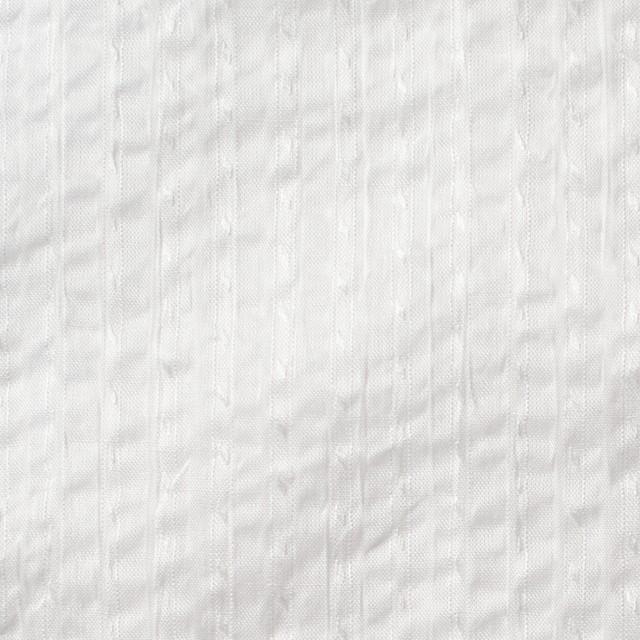 コットン×無地(オフホワイト)×サッカー_全2色 イメージ1