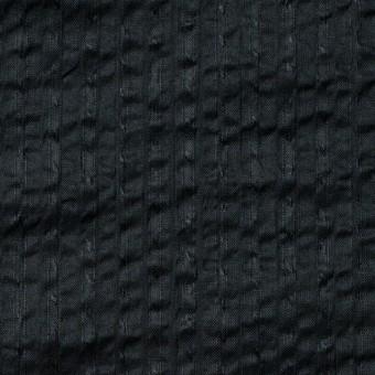 コットン×無地(ブラック)×サッカー_全2色 サムネイル1