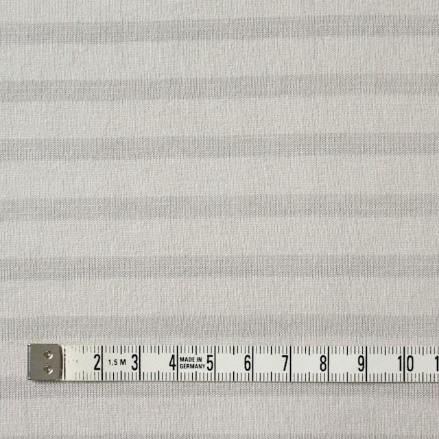 コットン×ボーダー(ライトグレー)×天竺ニット イメージ4