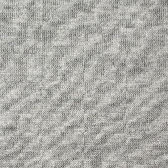 コットン×無地(グレー)×裏毛ニット サムネイル1