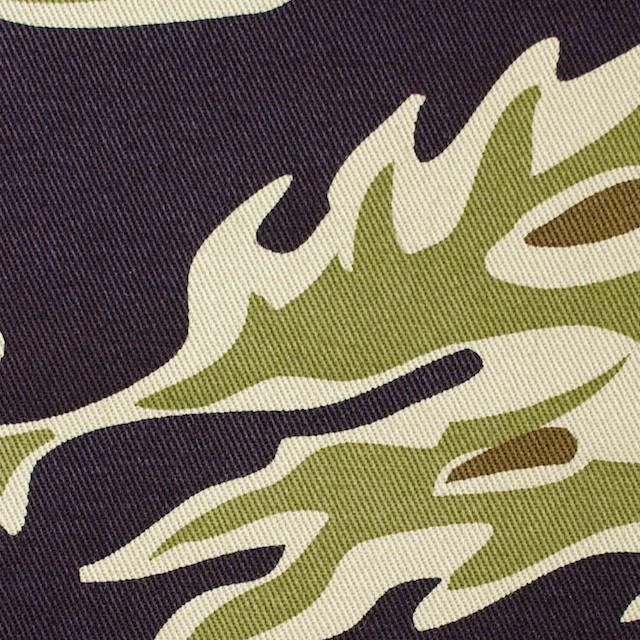 コットン×迷彩(カーキ&パープル)×チノクロス(芯貼) イメージ1