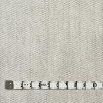 コットン×無地(ライトグレー)×セルビッチデニム サムネイル4