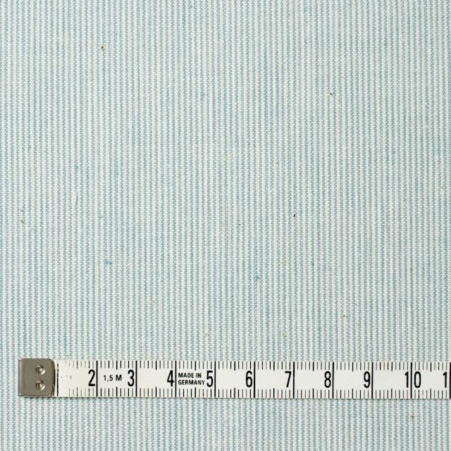 コットン&リネン×ストライプ(サックス)×シーチング イメージ4