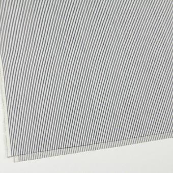 コットン×ストライプ(ネイビー)×かわり織 サムネイル2