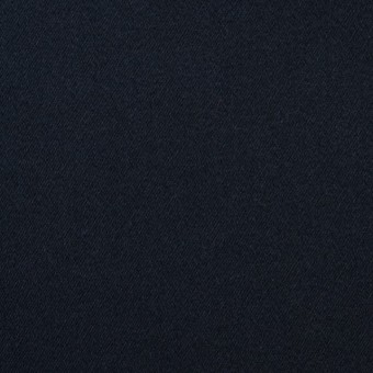 コットン&ポリウレタン×無地(ダークネイビー)×サテンストレッチ サムネイル1