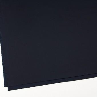 コットン&ポリウレタン×無地(ダークネイビー)×サテンストレッチ サムネイル2