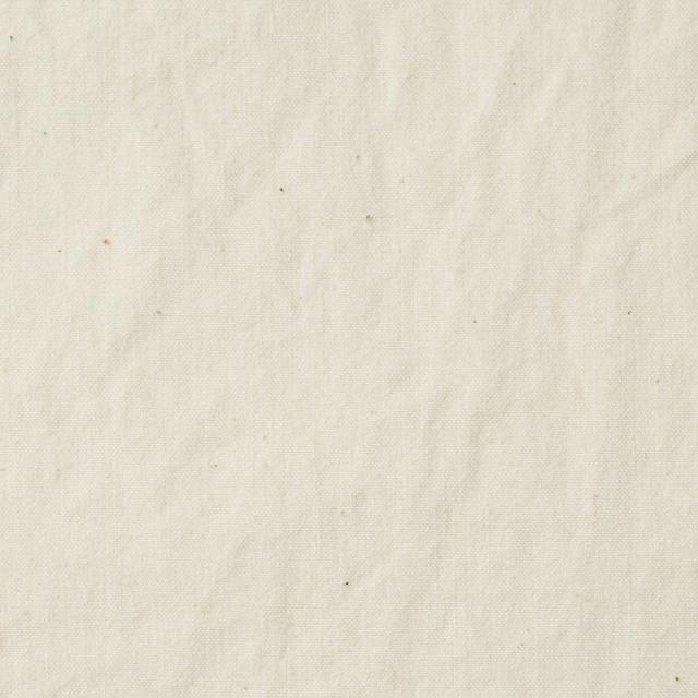 コットン×無地(キナリ)×ポプリン イメージ1