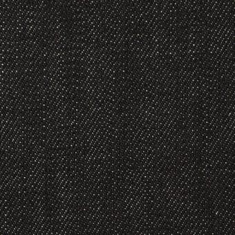 コットン×無地(ブラック)×デニム