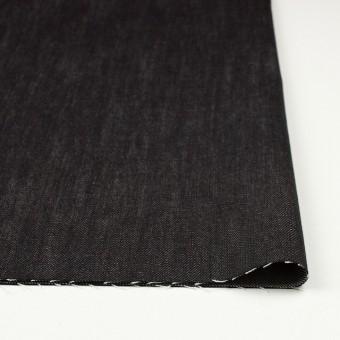 コットン×無地(ブラック)×デニム サムネイル3