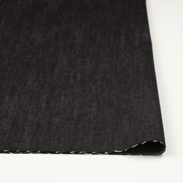 コットン×無地(ブラック)×デニム イメージ3