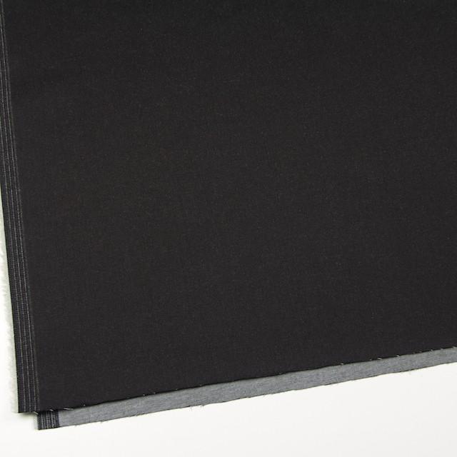 コットン&ポリウレタン×無地(チャコールブラック)×デニムストレッチ イメージ2