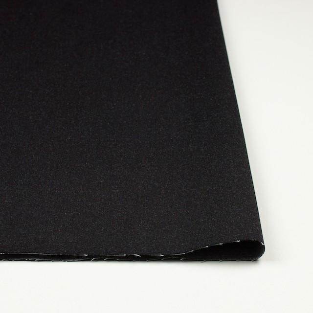 コットン&ポリウレタン×無地(チャコールブラック)×デニムストレッチ イメージ3