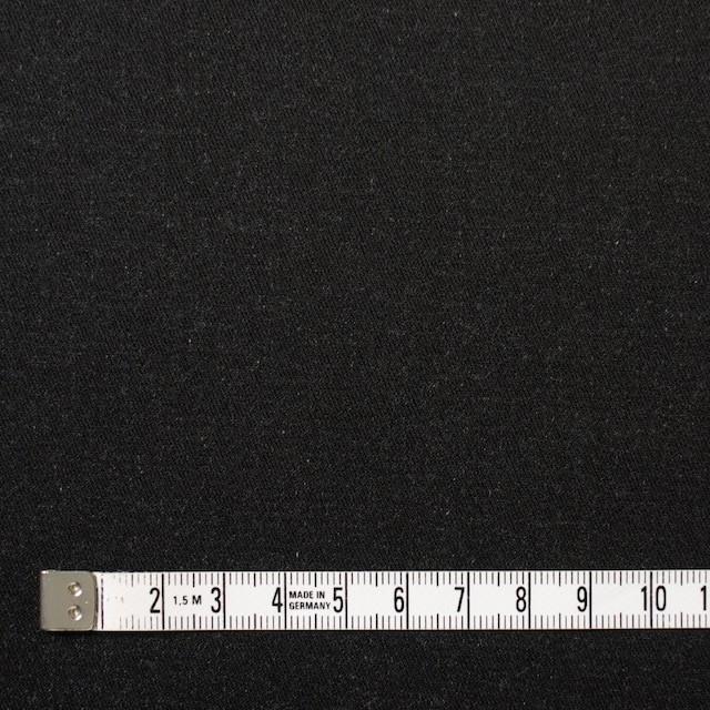 コットン&ポリウレタン×無地(チャコールブラック)×デニムストレッチ イメージ4