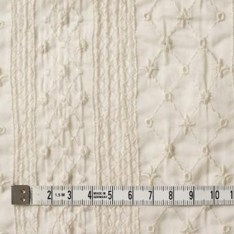 コットン×アーガイル(キナリ)×ボイル刺繍 サムネイル4