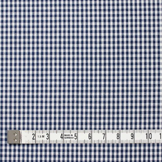 コットン×チェック(ネイビー)×ブロード イメージ4