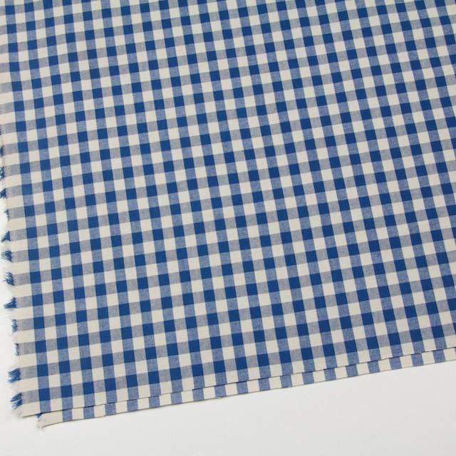 コットン×チェック(ブルー)×シーチング イメージ2