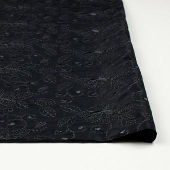 ポリエステル×フラワー(ブラック)×タフタ刺繍_全2色 サムネイル3