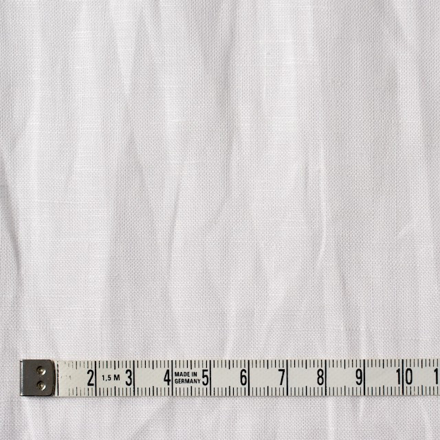 リネン&ラミー×無地(オフホワイト)×ボイルワッシャー イメージ4