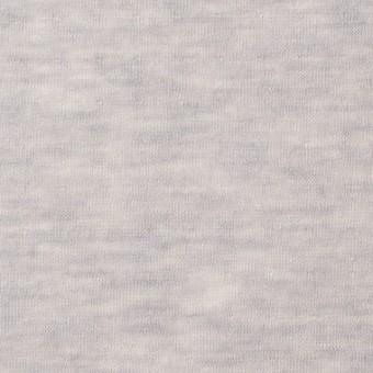 コットン×無地(パールグレー)×W天竺ニット サムネイル1
