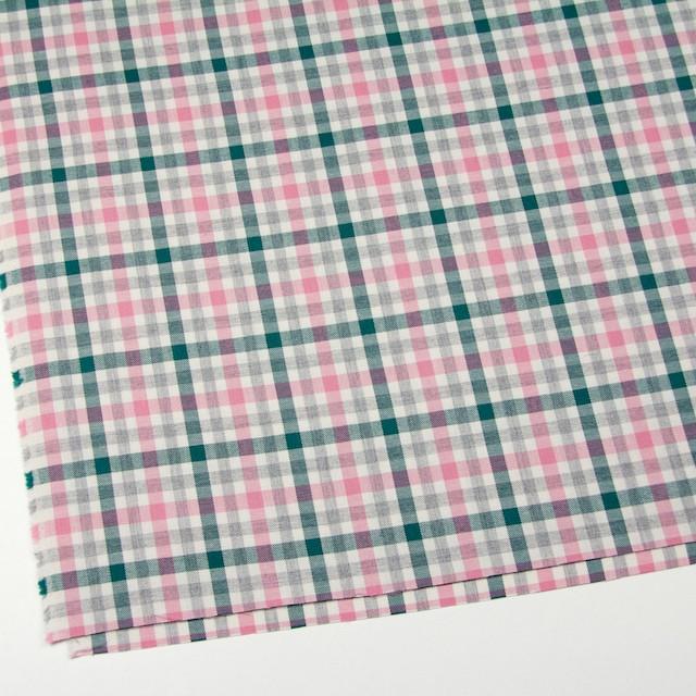 コットン×チェック(ピンク&グリーン)×ビエラ_全3色 イメージ2