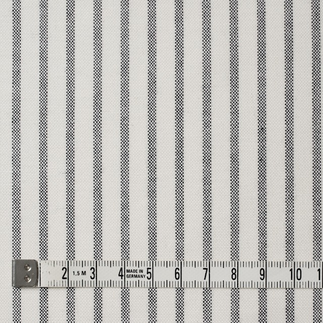コットン×ストライプ(ブラック)×オックスフォード_全3色 イメージ4