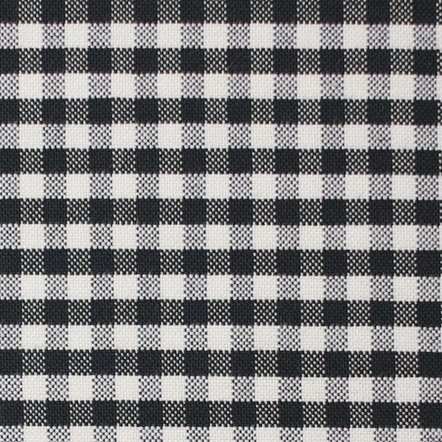 コットン×チェック(ブラック)×オックスフォード_全2色 イメージ1