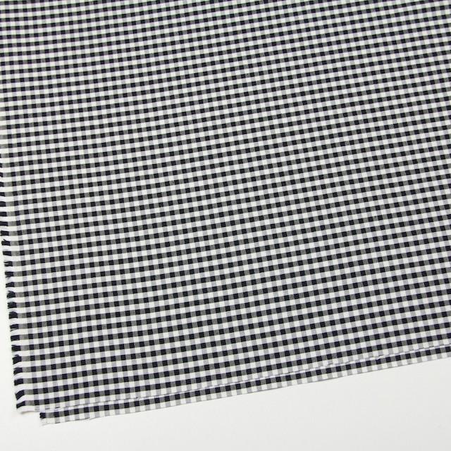 コットン×チェック(ブラック)×オックスフォード_全2色 イメージ2