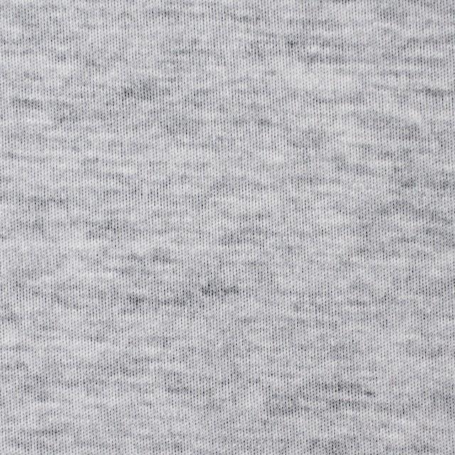 コットン×無地(杢グレー&ブラック)×W天竺ニット イメージ1