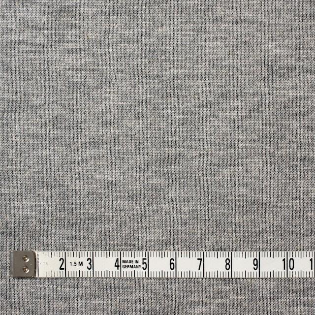 テンセル&レーヨン混×無地(グレー)×天竺ニット イメージ4