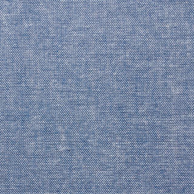 コットン×無地(ブルー)×ダンガリー イメージ1
