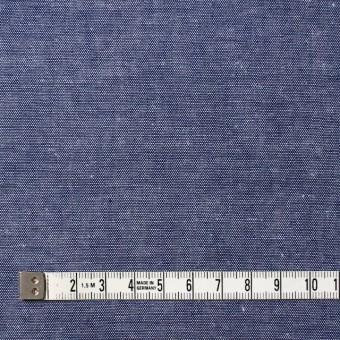 コットン×無地(ネイビー)×ダンガリー サムネイル4