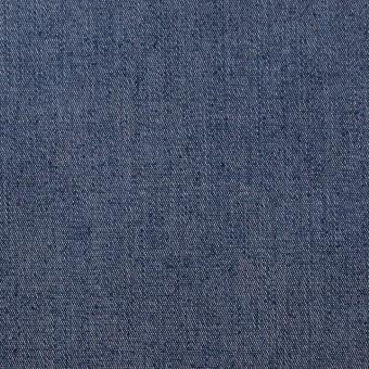 コットン&ポリウレタン×無地(ブルーグレー)×デニムストレッチ サムネイル1