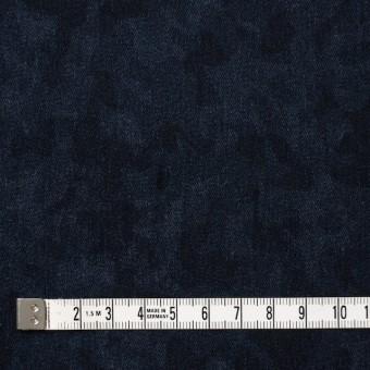 コットン&ポリウレタン×幾何学模様(インディゴ)×デニムストレッチ サムネイル4