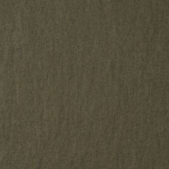 コットン×無地(カーキグリーン)×サージワッシャー_全4色 サムネイル1