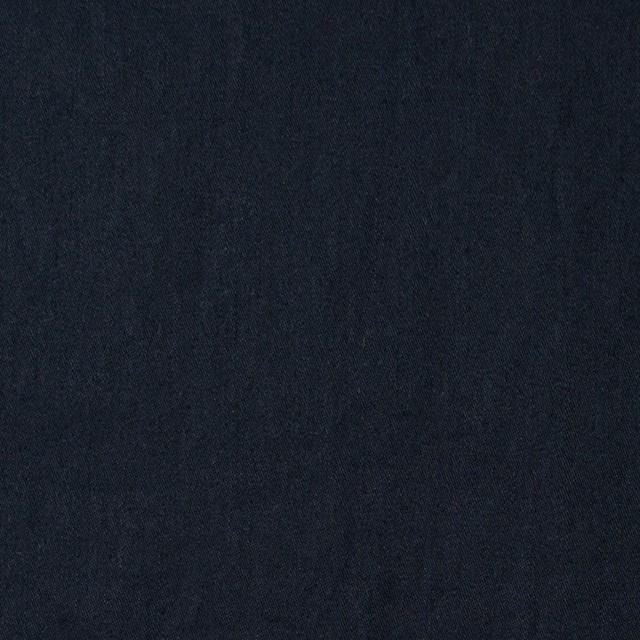 コットン×無地(ダークネイビー)×サージワッシャー_全4色 イメージ1
