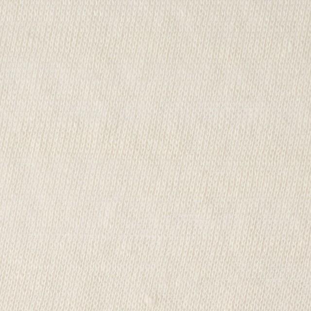 コットン&ポリエステル×無地(アイボリー)×天竺ニット_全3色 イメージ1