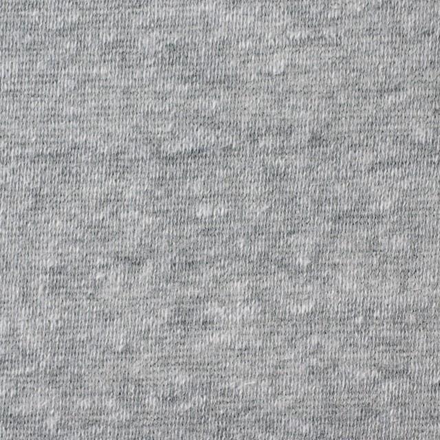 コットン&ポリエステル×無地(グレー)×天竺ニット_全3色 イメージ1