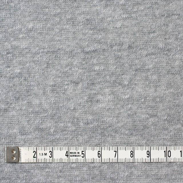 コットン&ポリエステル×無地(グレー)×天竺ニット_全3色 イメージ4