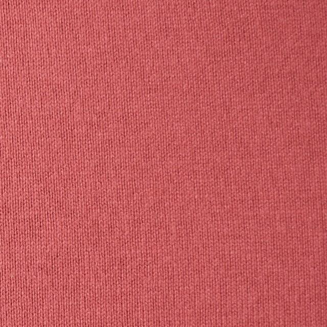 コットン×無地(スカーレット)×天竺ニット_全3色 イメージ1