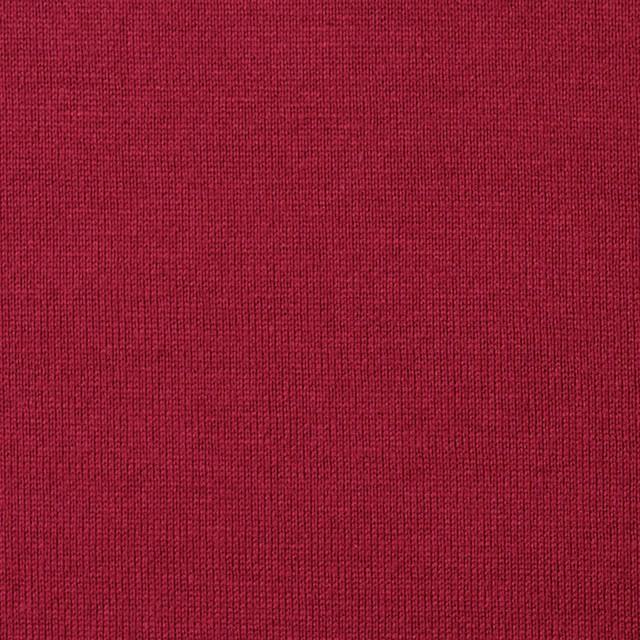 コットン×無地(クランベリー)×天竺ニット イメージ1