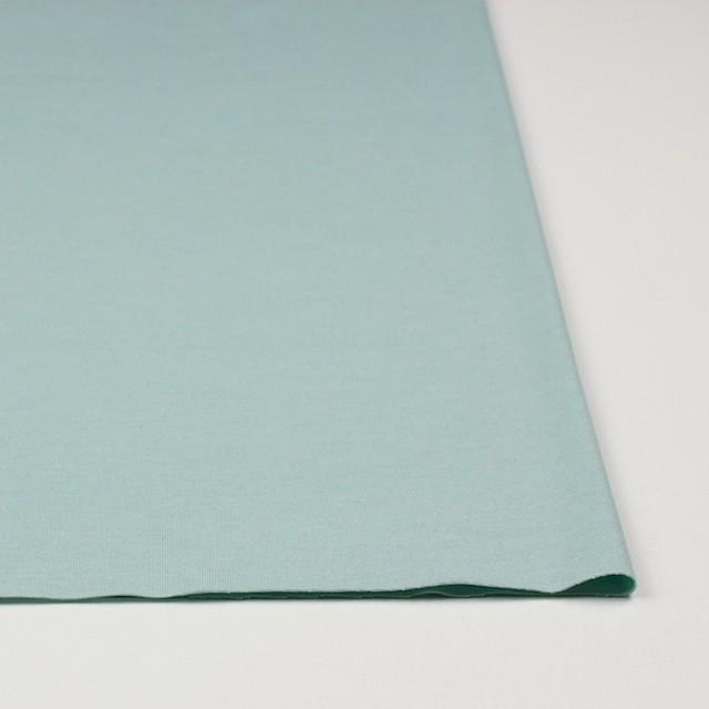リヨセル&ポリエステル混×無地(アイスグリーン)×天竺ニット イメージ3