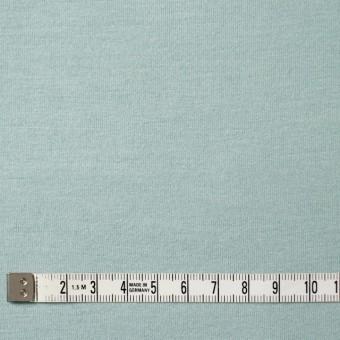 リヨセル&ポリエステル混×無地(アイスグリーン)×天竺ニット サムネイル4