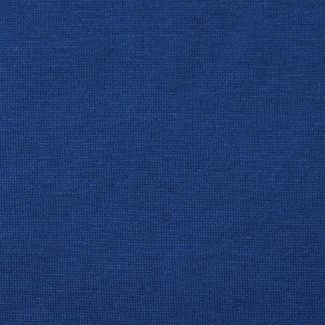 コットン×無地(ロイヤルブルー)×天竺ニット イメージ1