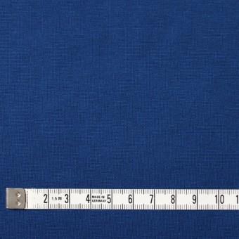 コットン×無地(ロイヤルブルー)×天竺ニット サムネイル4