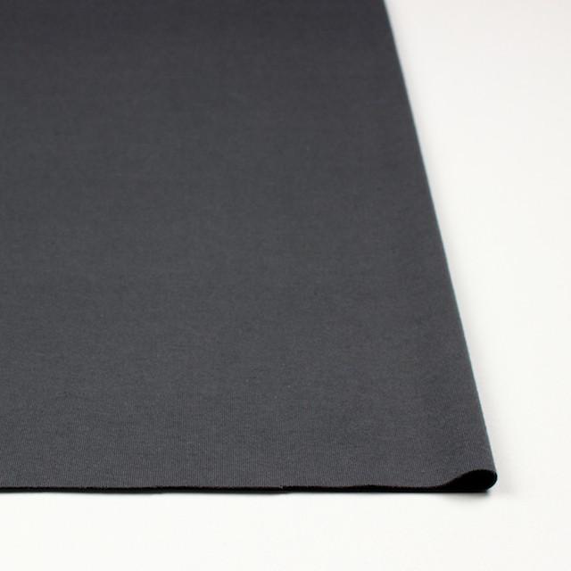 コットン×無地(スレートグレー)×スムースニット イメージ3
