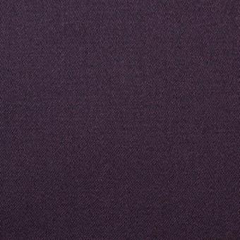 コットン×無地(グレイッシュパープル)×サテン_全3色
