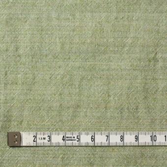 ウール&コットン×無地(グリーンティー)×起毛シャンブレー_全3色 サムネイル4