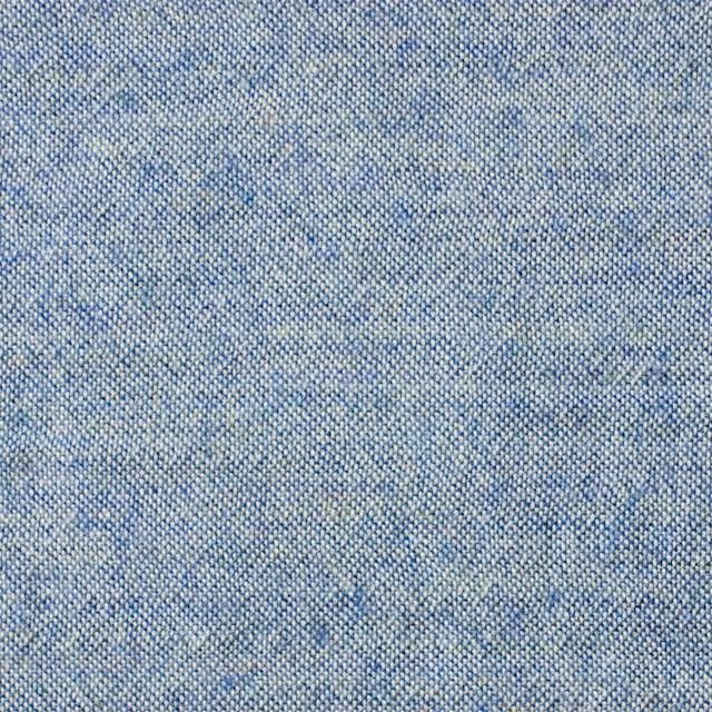 ウール&コットン×無地(サックス)×起毛シャンブレー_全3色 イメージ1